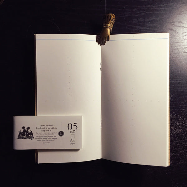 寫筆記 A5 Slim 空白筆記 05 | Keep A Notebook A5 Slim Plain Insert 05