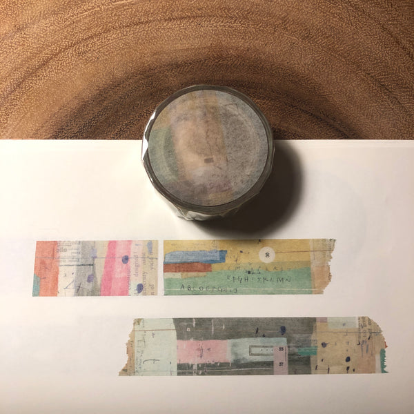 Chamil Garden Washi Tape Writing a Letter | 小徑文化 x 夏米花園 手紙
