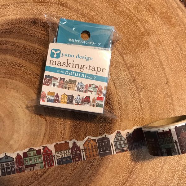 yano design Washi Tape - Northern European Town | yano design 紙膠帶 - 北歐街景