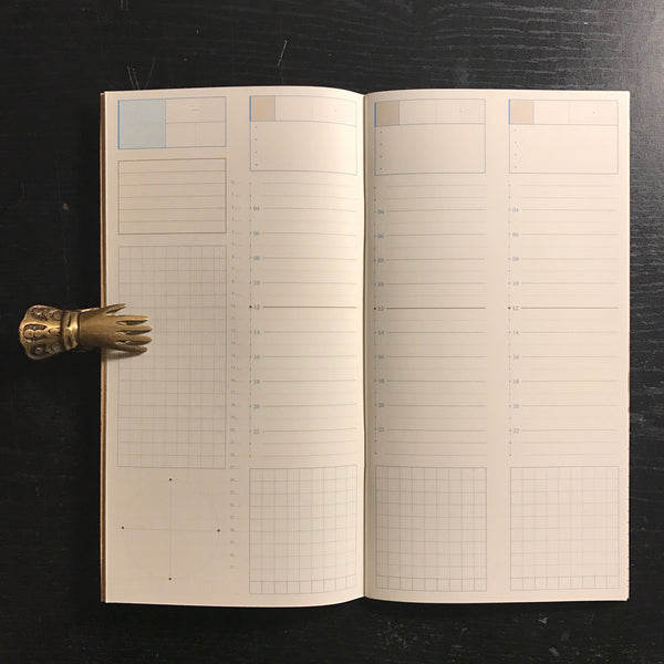 Keep A Notebook A5 Slim Goal Planner 11 | 寫筆記 A5 Slim 目標筆記 11