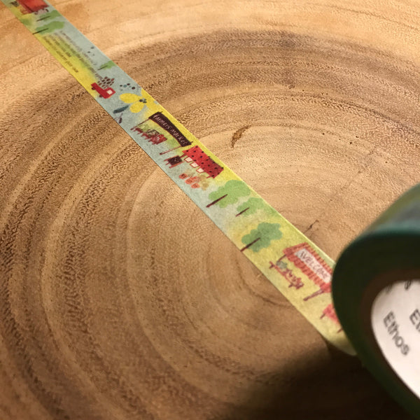 Jan hsuan Washi Tape, Little Market  | 染渲紙膠帶,小市集
