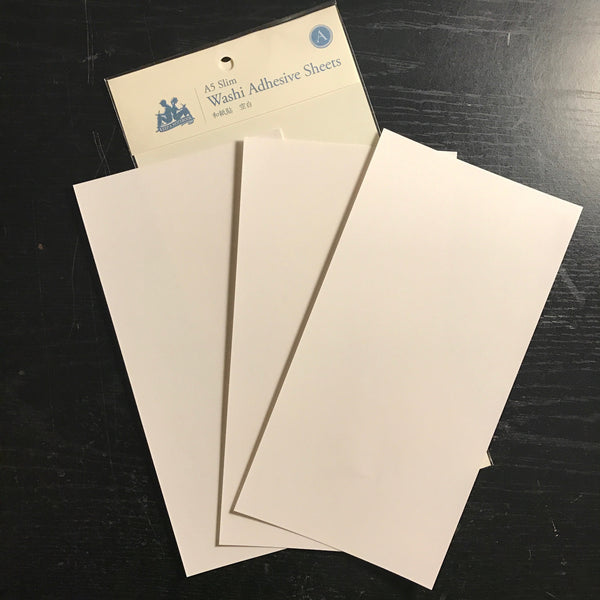 Keep A Notebook A5 Slim Washi Adhesive Sheets | 寫筆記 A5 Slim 和紙貼