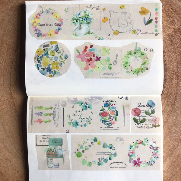 Fion Stewart Four Seasons Garden Washi Tape | Fion 經典四季花園紙膠帶