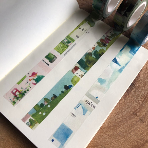 Fion Stewart Little World Washi Tape | Fion 小小世界紙膠帶