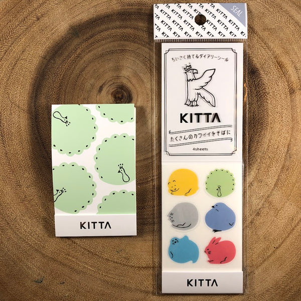King Jim KITTA Sticker, Seal | 錦宮 KITTA貼紙 封印系列