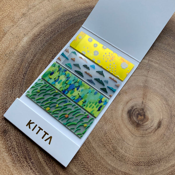 King Jim KITTA Clear Strips | 錦宮 KITTA透明標籤貼紙
