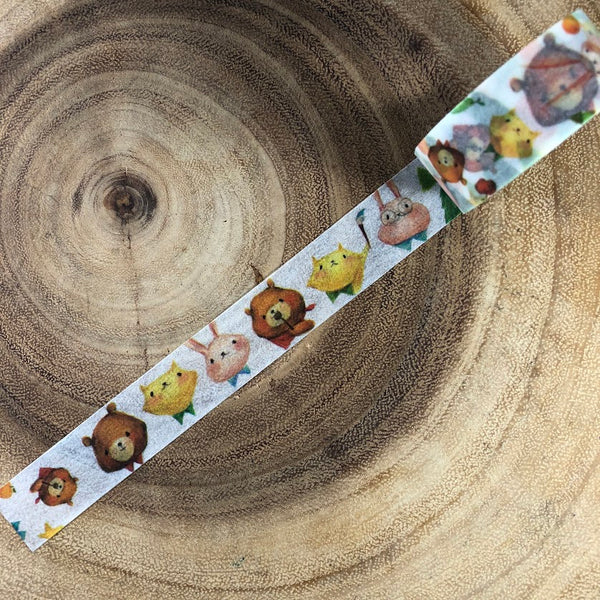 Mia Washi Tape, Forest Friends | Mia紙膠帶,森林好朋友