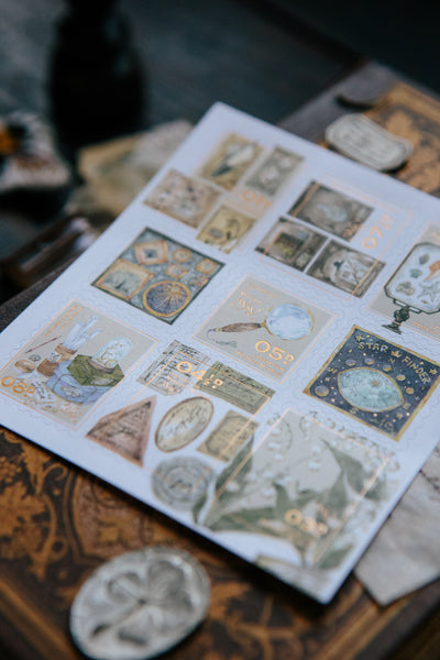 Ours Postage Stamps Sticker, Collection of Museum | 漢克 博物館藏郵票貼紙