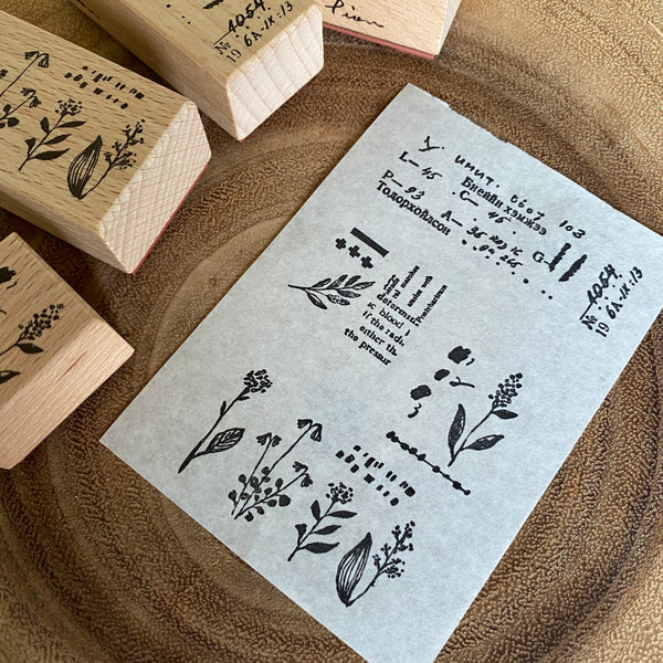 Pion Stamp, Flower Collection | Pion印章, 花集