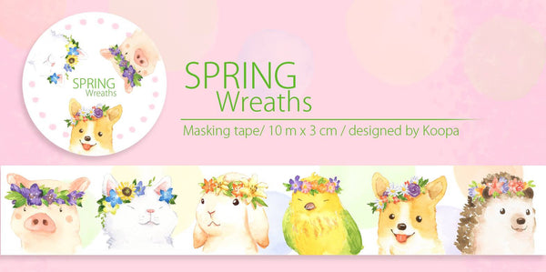 Ours Washi Tape - Spring Wreath