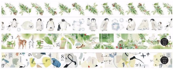 Liang Feng Washi Tape - SKM Exhibition Limited  | 小徑文化 x 涼丰 新光展限定