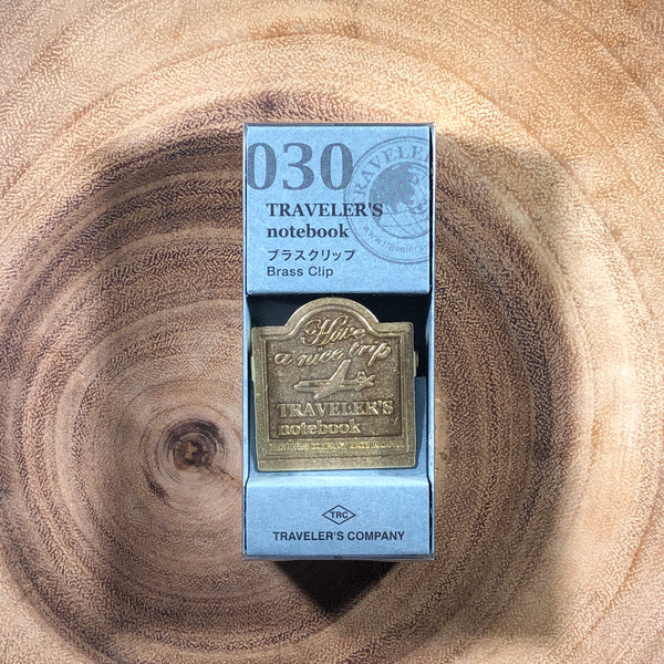 Traveler's Notebook Brass Clip 030 | 旅人筆記本 黃銅夾