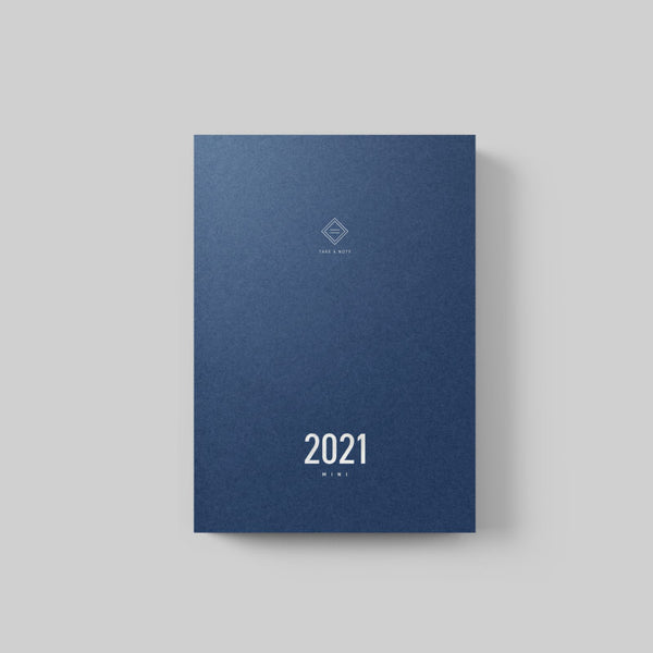 Pre-Order | 預售 Take A Note 2021 Mini Planner Chinese Ver. | Take A Note 2021 中文版日誌
