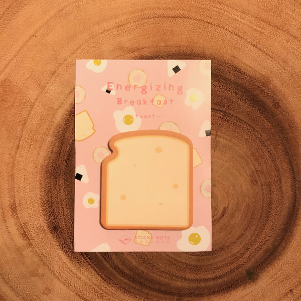 Card Lover Sticky Notes Energizing Breakfast Series | 信的戀人便利貼 能量早餐系列