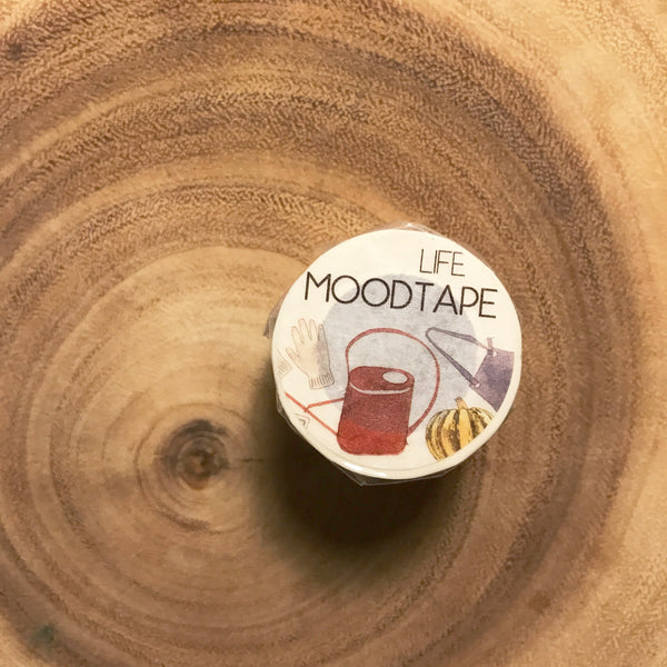 MOODTAPE Life Series | MOOD和紙膠帶 生活系列
