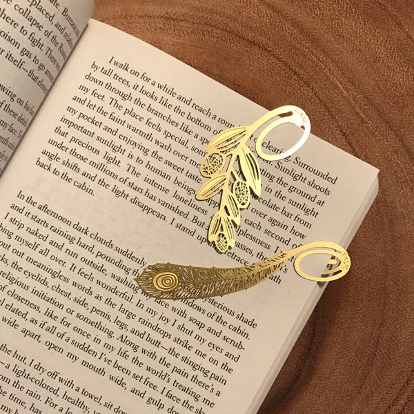 Brass Bookmark Poem Series | 金屬書籤 詩意系列