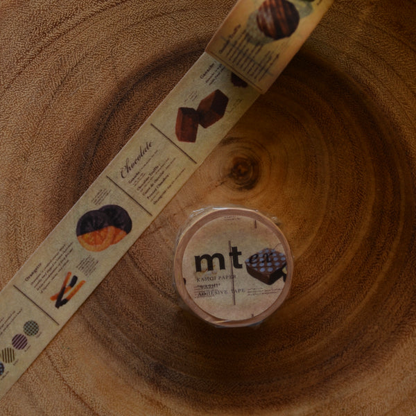 mt Masking Tape 2018 Summer Release EX Chocolate Book | mt紙膠帶 2018夏季新品 EX 巧克力圖鑒