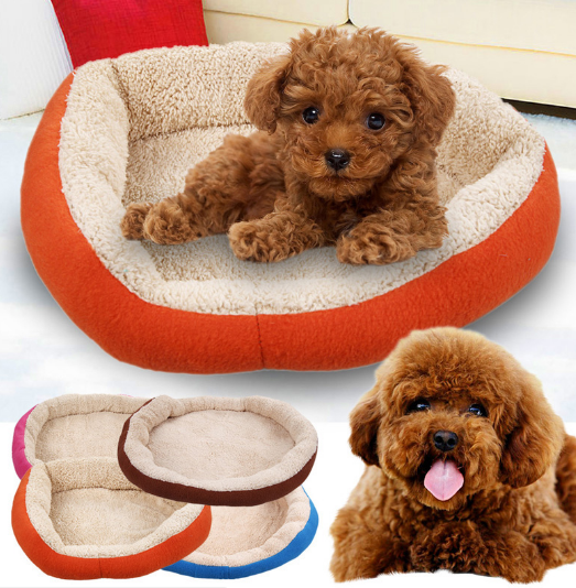 Soft Fleece Warm Dog Bed