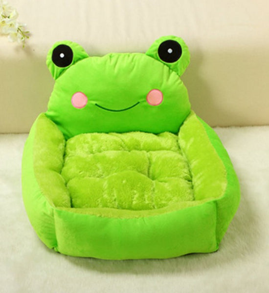 Small Dog Frog Lounger Bed