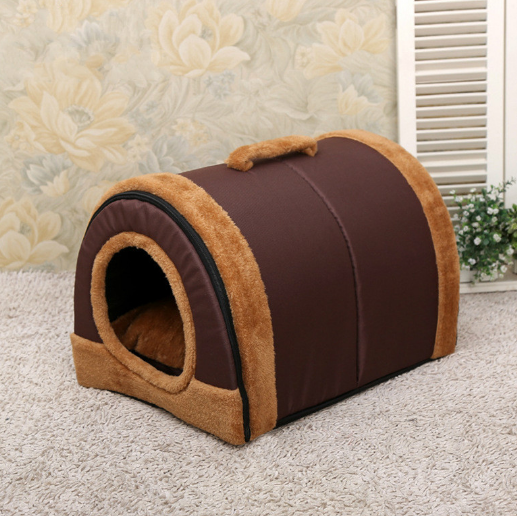 Luxury Dog Cave Bed
