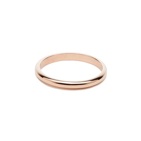 Alliance femme ROSEAU - Or rose 18 cts