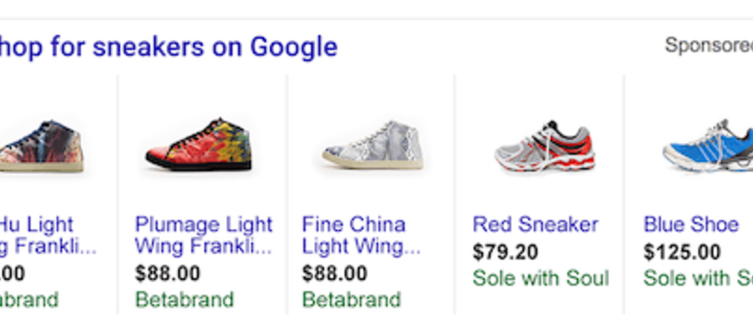 Google Adwords PLA (product listing ads) campaign creation | Blimpon