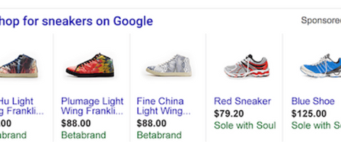 Google Adwords PLA (product listing ads) campaign creation