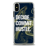 Decide Commit Hustle