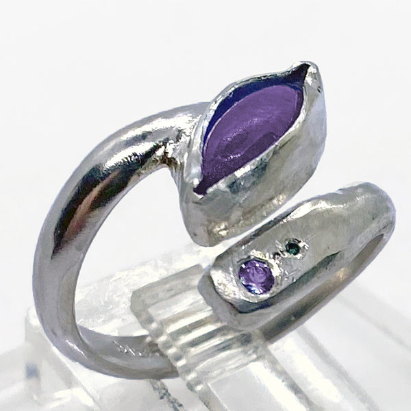 Tanzanite Adjustable Ring