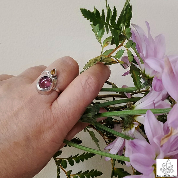 Radiant Ametrine Ring