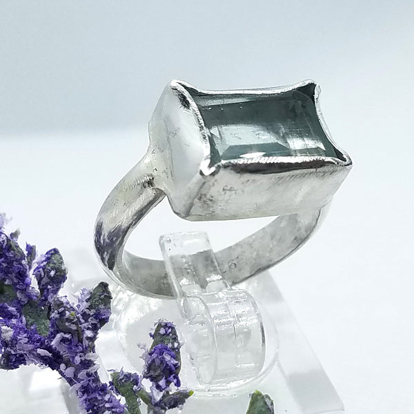 Breathtaking Aquamarine Ring