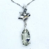 Heavenly Green Amethyst Pendant