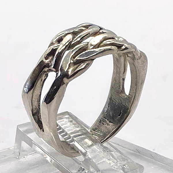 Unisex Braided Ring