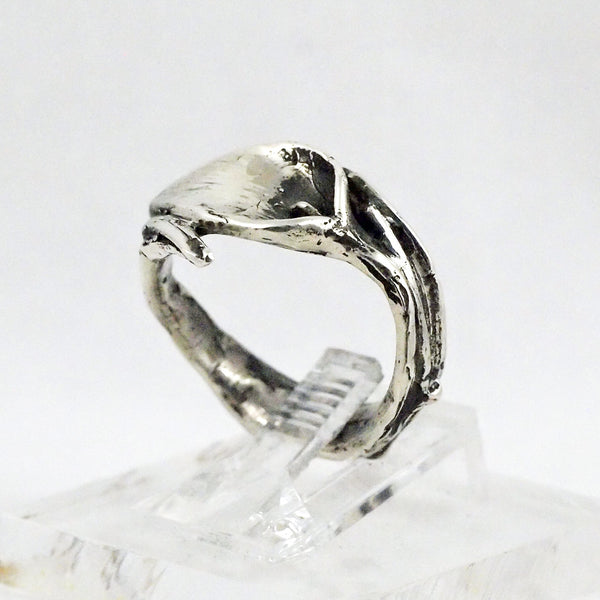 Sterling Silver Calla Lilly Ring