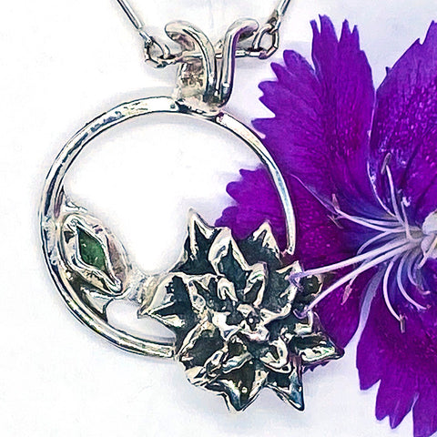 Birth Month Flower Pendant - December