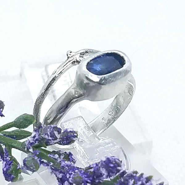 Kyanite Branch Ring