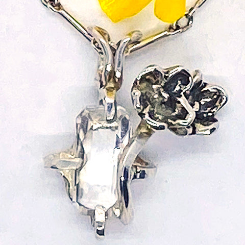 Birth Month Flower Pendant - May