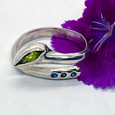 Peridot Adjustable Ring