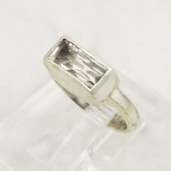 Fancy Quartz Crystal Ring