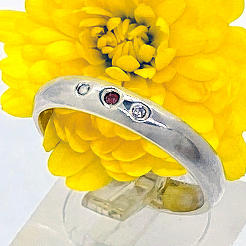 Ruby Trio Ring (size 7 1/2)