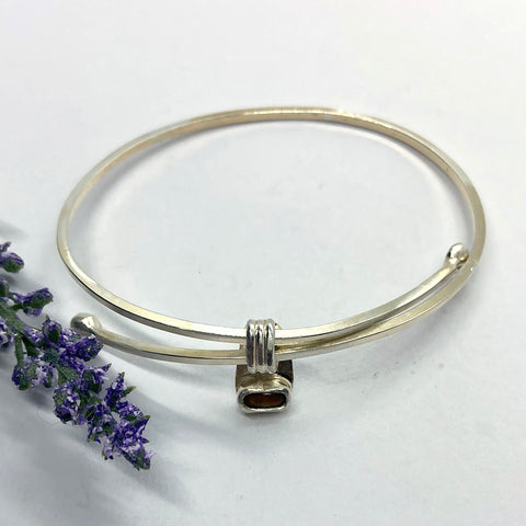 Adjustable Tiger's Eye Bangle