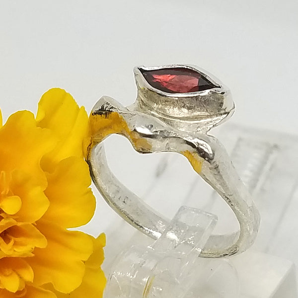 Enchanting Garnet Ring