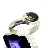 Mysterious Moldavite Ring
