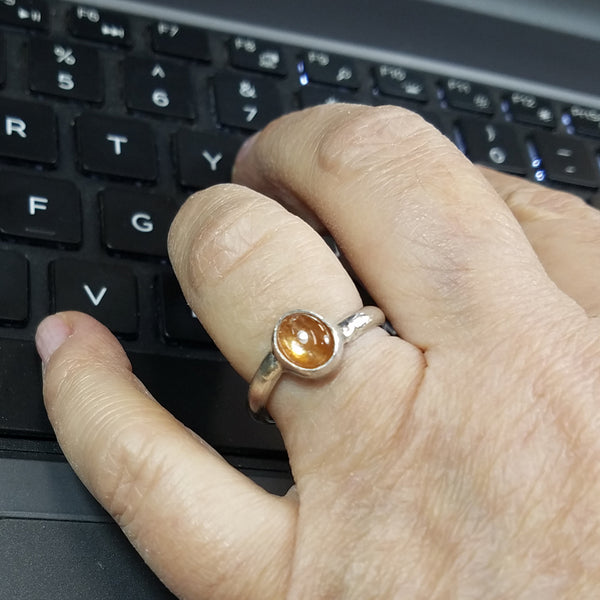 Every-day Sunstone Ring