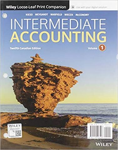 Intermediate Accounting Volume 1 Loose-leaf with WileyPlus