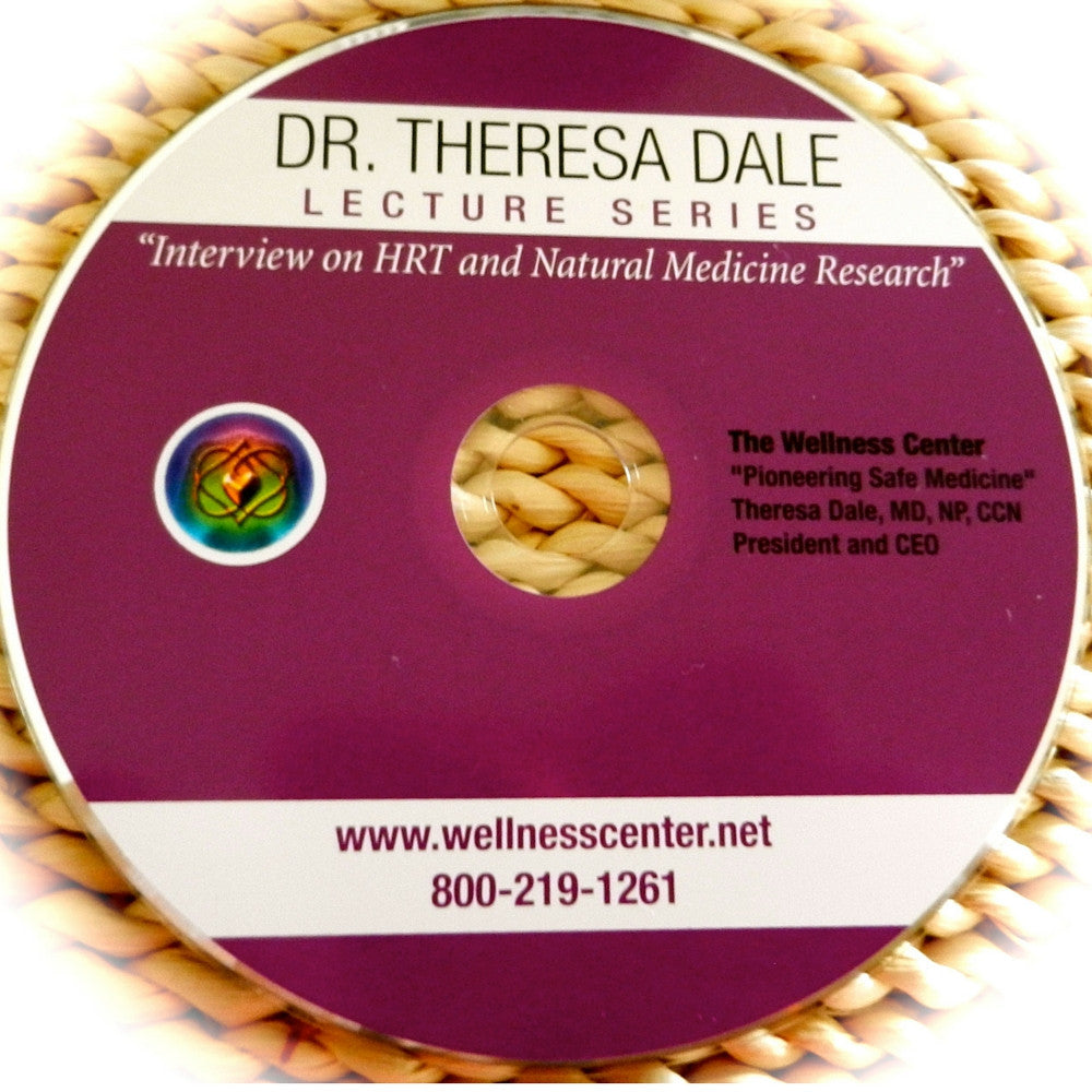 Dr. Dale interview CD: Q&A on HRT & Research