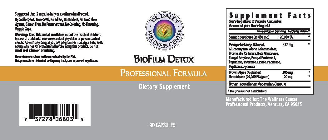 BioFilm Detox | Dr  Dales Wellness Store | Dr  Dales Wellness Center