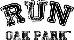 run oak park logo