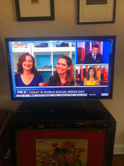 Owners Anne and Kate on TV with Fox news