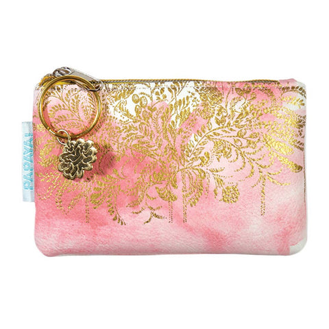 PAPAYA - Coin Purse - Blush Watercolor